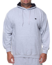 Big & Tall - L/S Pullover Fleece Hoodie (B&T)-2135199