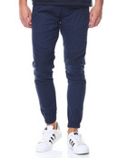 Articulated Twill Moto Pant