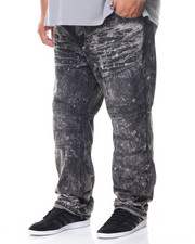 Rocawear - Black Moto Denim Jean (B&T)