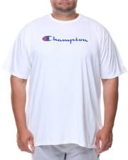 Men - S/S Retro Champion Script Tee (B&T)-2136086
