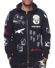 PUNK ROYAL - French Terry All Over Print Hood