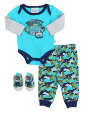 Infant & Newborn - 3 Piece Creeper Long Set (Infant)