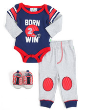 Sets - 3 Piece Creeper Set (Infant)