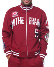 Smith & Graham - L/S Full Zip Patches Jacket