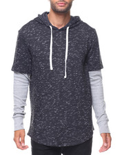 Men - Space Dye French Terry Hoodie