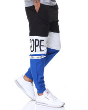 Jeans & Pants - Split Cotton Jogger