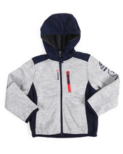 Reebok - Hooded Colorblock Fleece Jacket (4-7)