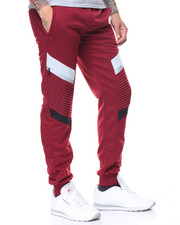 Buyers Picks - Two Tone Motto Joggers