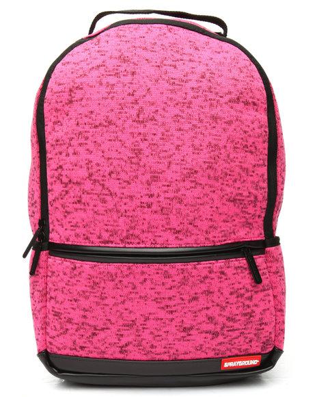 Sprayground - Pink Knit Backpack