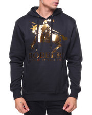 Buyers Picks - Basic Pullover Metallic Hoodie