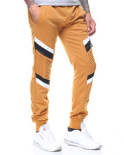 Men - Two Tone Motto Joggers