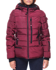 Women - Lt Hooded Puffer Jacket