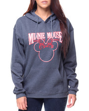 Women - Minnie Mouse Pullover Hoodie