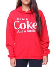 Hoodies - Coke Pullover Hoodie