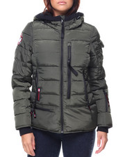 Canada Weather Gear - Lt Hooded Puffer Jacket