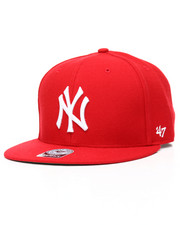 NBA, MLB, NFL Gear - New York Yankees Big Shot Basic 47 Prospect Wool Snapback