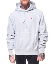 "Champion - Reverse Weave Pullover Left Chest ""C"" Logo Hood"