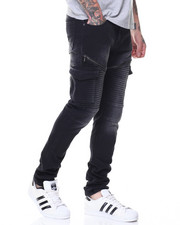 Jeans & Pants - Knee Trim Cargo Twills
