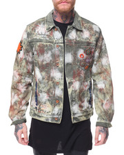 Denim Jackets - Knighted Denim Bleached Jacket