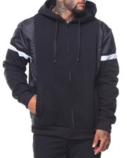 Southpole - Nylon Block Full-Zip Hoodie (B&T)