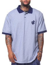 Big & Tall - S/S Squadron Polo (B&T)