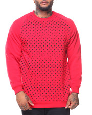 Buyers Picks - Fleece Printed Pullover Sweatshirt (B&T)