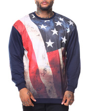 Men - French Terry Sublimation Pullover Sweatshirt (B&T)