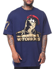 Men - Biggie Foil & Rhinestone Tee (B&T)