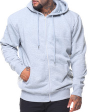 Men - Fleece Full Zip Hoodie Sweatshirt (B&T)