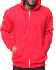 Men - Fleece Full Zip Hoodie Sweetshirt (B&T)