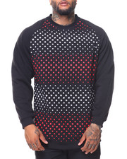 Men - Fleece Printed Pullover Sweatshirt (B&T)