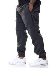 Men - Waterproof Zipper Fleece Jogger Pants (B&T)