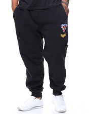 Men - Patch Fleece Pants (B&T)