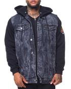 Hooded Denim Jacket (B&T)