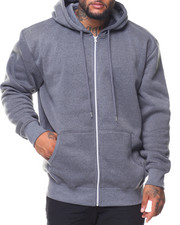 Buyers Picks - Fleece Full Zip Hoodie Sweetshirt (B&T)