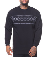 Men - Fleece Crew Neck Pullover Sweatshirt (B&T)