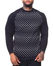Pullover Sweatshirts - Fleece Printed Pullover Sweatshirt (B&T)