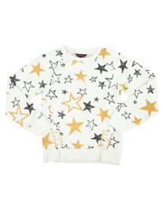 Girls - Glitter French Terry L/S Shirt (7-16)
