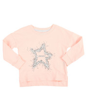 Sweatshirts & Sweaters - DKNY Star French Terry Pullover (2T-4T)