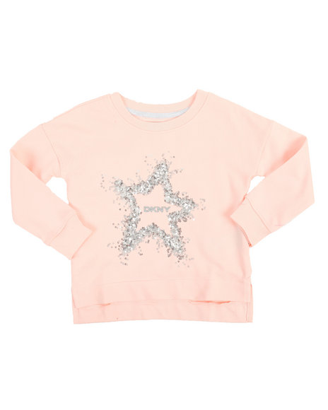 DKNY Jeans - DKNY Star French Terry Pullover (2T-4T)