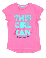 Reebok - This Girl Can Hi-Lo Tee (7-16)