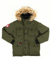 Sizes 8-20 - Big Kids - Vestee Parka Jacket (8-20)