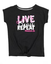 Girls - Love Dance Repeat Tee (7-16)
