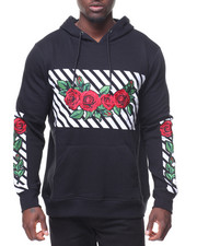 Men - Embrd Roses Hoody