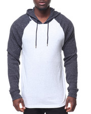 Hoodies - L/S Marado Speckle Thermal Hoody