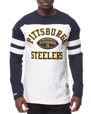 Mitchell & Ness - Swing Pass L/S Pittsburgh- Steelers T-Shirt