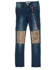 Jeans - Sequin Knee Patch Jegging (7-14)