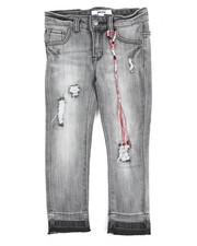 Bottoms - Olivia Skinny Denim Rip/Repair Jean (4-6X)