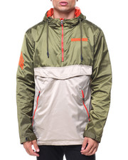 Men - Color Block Anorak