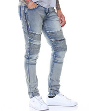 Jeans & Pants - Double Zipper Motto Jeans